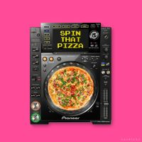 Spin Pizza by xavierlokollo