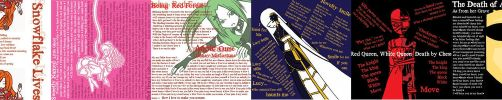 The fake CD Booklet by Neveresque