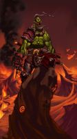 an Orc's Roar by theCHAMBA