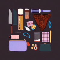 What's in Marom's bag? by coconut-orc