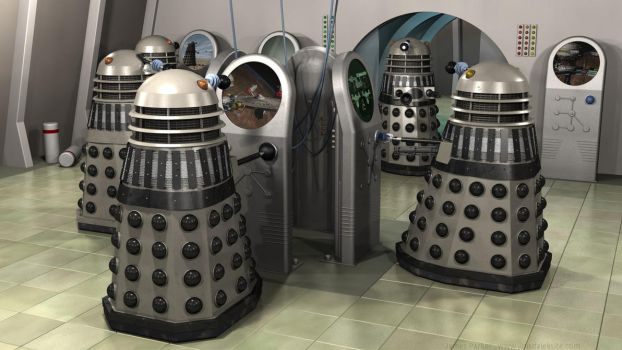 Dalek Operations Room by Jim197