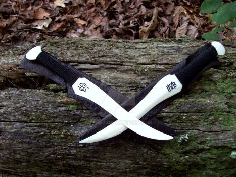 Knife Pair 201 202 by Ysssk