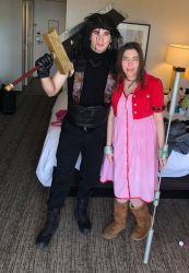 Final Fantasy Cosplay- Zack and Aerith by Kabuki-Sohma
