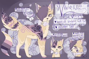 sugar cat myo entry 1 - vivienne by 5gb