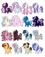 Adoptables :OPEN: by gigason
