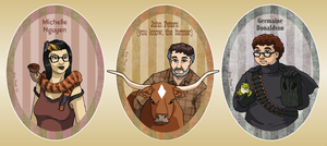 Professional Night Vale Daemons by ErinPtah