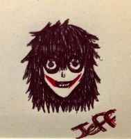 Jeff the killer by tsukiss