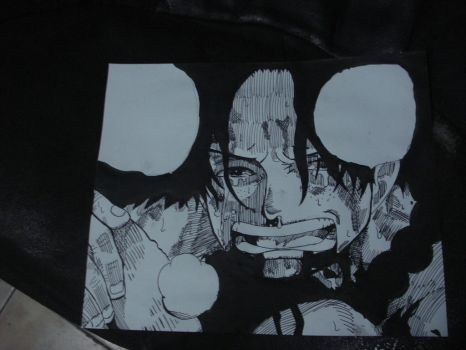 Drawing Ace From One Piece by LamboBovinoDRAW