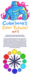 TUTORIAL: COLORS PART 1 by Cubesona