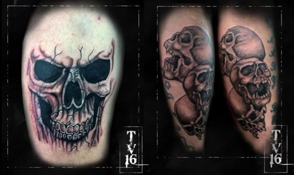 Apprenticeship tattoo 3 and 4 by Illusions-of-TV