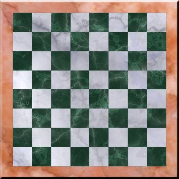 Marble Chessboard 2 by robostimpy
