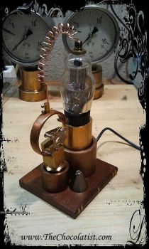 The Steampunker's Vacuum Data Tube by thechocolatist