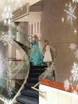 Elsa and Olaf by NoMusicEqualsNoLife