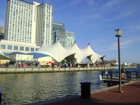 Pier 6 Pavilion in Baltimore by ATwistintheMyth
