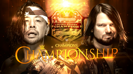 Clash Of Champions Custom Match Card  by TheRealKing76