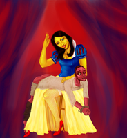 Snow White and Naughty by Andi-the-Duke