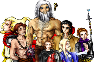 DnD Group Picture by bunnystick