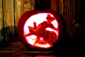Kiki's Delivery Service Pumpkin by Kittycatjorjor