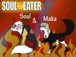 Soul and Maka - WS by Dorchette