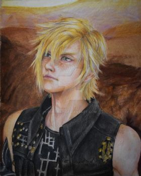 Prompto - Final Fantasy XV by Rxbxkah