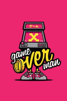 Game Over Man by cronobreaker