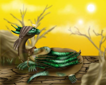 Resting in the Wasteland by Icedragon300