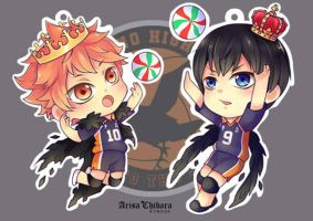 Kagehina Acrylic clear charms by arisa-chibara