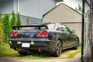R34 Skyline by SeanTheCarSpotter