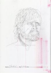 Tyrion Lannister from Game of Thrones by ARTOFJSG