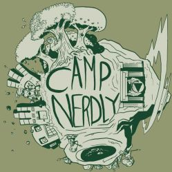 Camp Nerdly 2 Shirt by treuer
