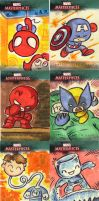 Marvel Masterpieces 4 by JeffVictor