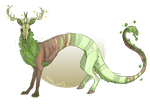 ShamrockStag_70PRIZE_for Snakehands by B-aruaL-Adopts
