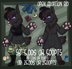 [OPEN] WOLF WITCH FEM ADOPT by Trash-Muffin