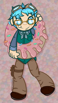 Get Them Donuts Boy by graveyardcritter