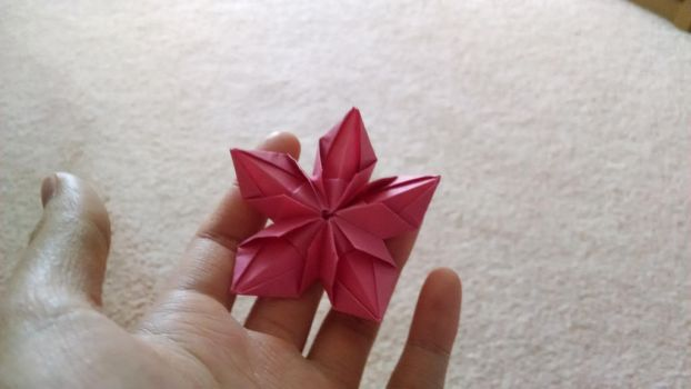 Origami 5 petal flower 1 by starriichan on deviantart mightylinksfo