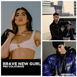 Brave New Gurl \ colouring by Avenue-color