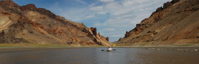 Lake Owyhee Kayaking 4 by eRality