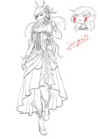 Tenue Aoi Mariage Event Line 100%  WIP by sango691
