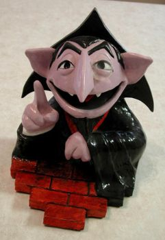 The Count bookend by ArtNomad