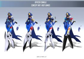 Officer Camille by DBR01