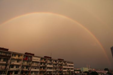 View rainbow by jufe