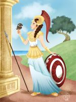 Athena by roby-boh