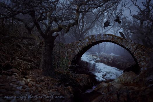 Dark Bridge by annewipf