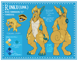 Full Official Ref.Sheet Rinku by TheMidnightWolfRaven