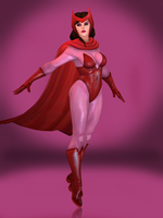 Scarlet Witch by Sticklove