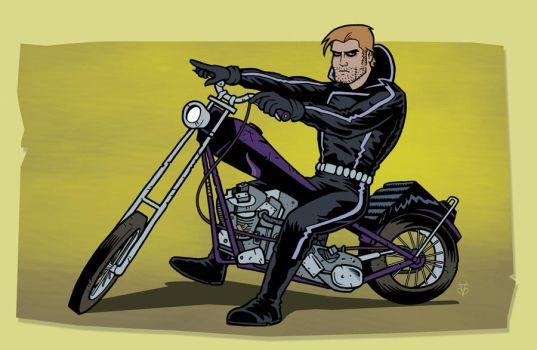 Johnny Blaze is Ghost Rider by Eyemelt