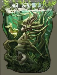 creek dryad by ToolKitten