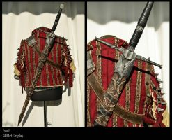 Scabbard / Eskel The Witcher Cosplay by KADArt-Cosplay