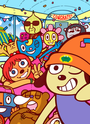 Parappa by DarkChibiShadow