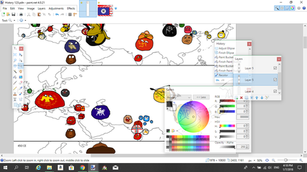 Wip Countryballs by Disney08